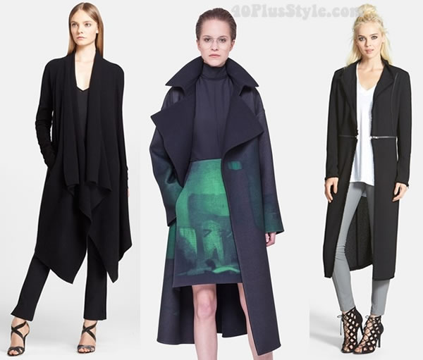 Long coats - hip and modern | 40plusstyle.com