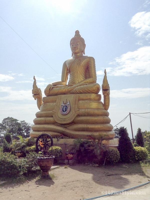 Little golden buddha, Phuket, Thailand   40plusstyle.com