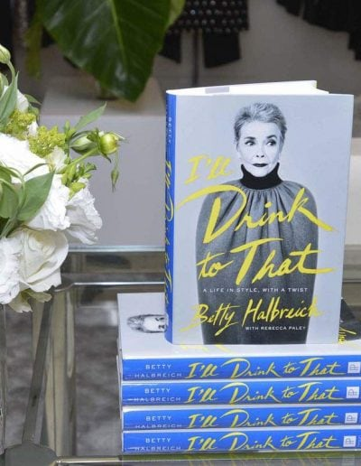A life in fashion with Betty Halbreich - a book review of I'll drink to that   40plusstyle.com