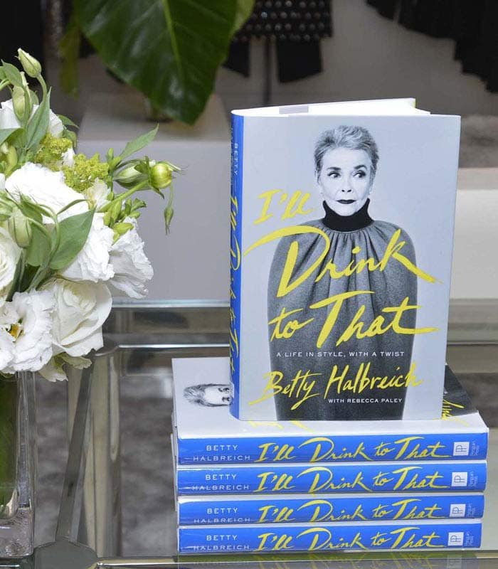 A life in fashion with Betty Halbreich – a book review of I'll drink to that