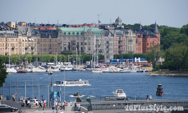 Harbour in Stockholm | 40plusstyle.com