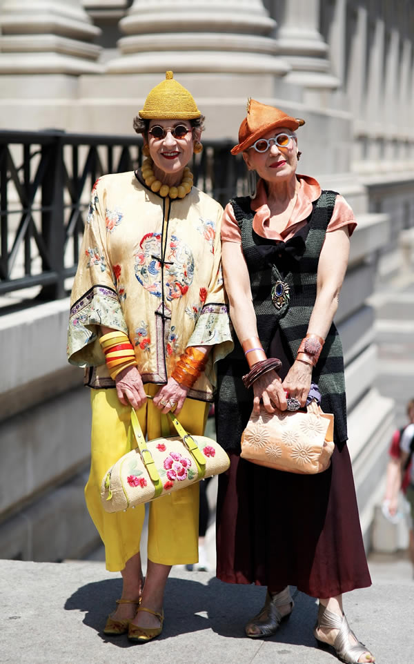 Tziporah Salamon and Debra Rapoport | 40plusstyle.com