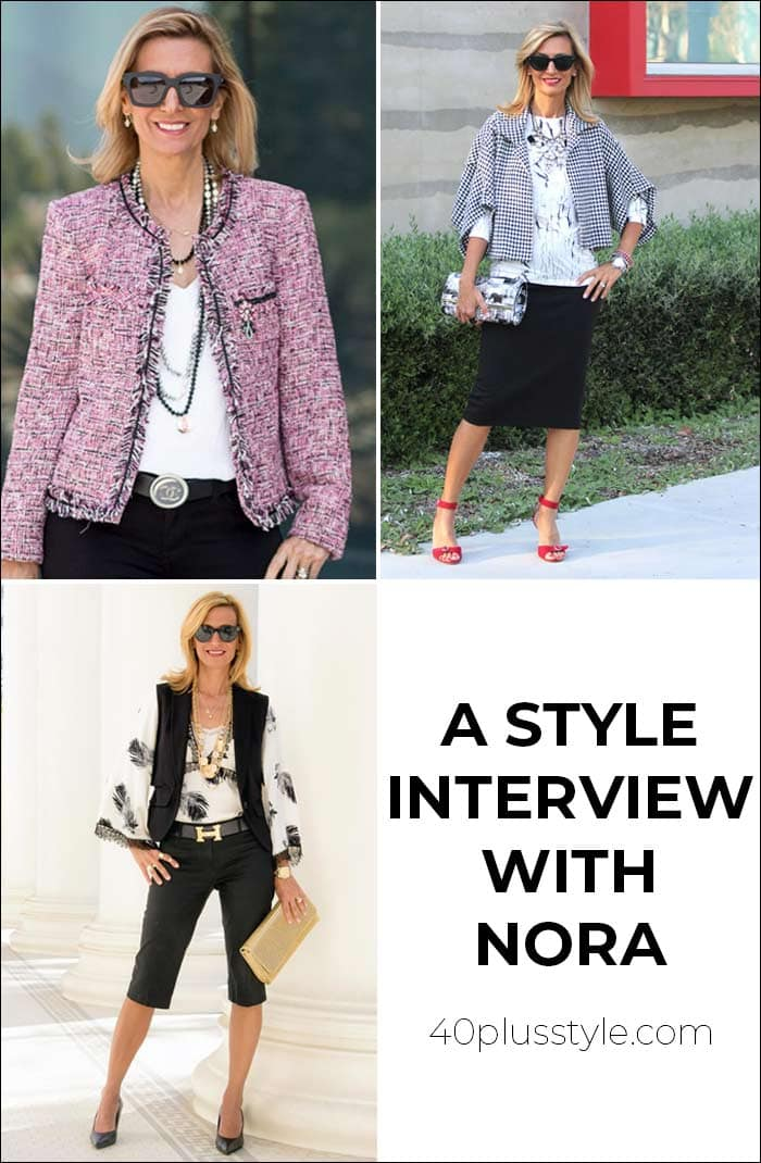 A style interview with Nora | 40plusstyle.com