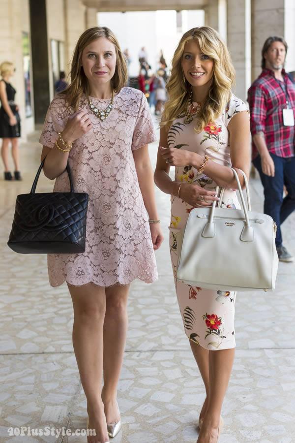 pretty pastel dresses | 40plusstyle.com