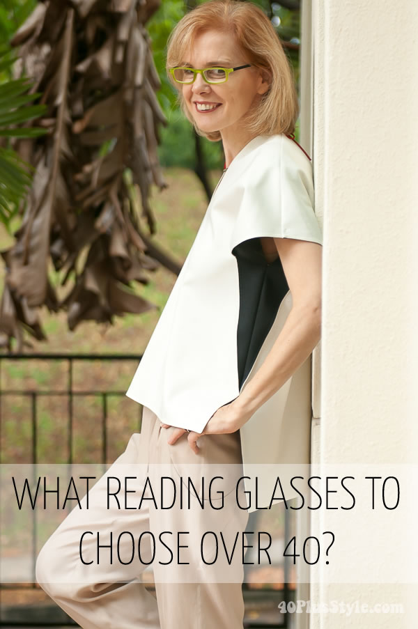 40s Style With M Co And Me: Best Reading Glasses For Women Over 40