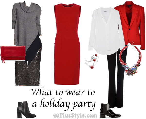 what to wear to a christmas or holiday party 40plusstylecom