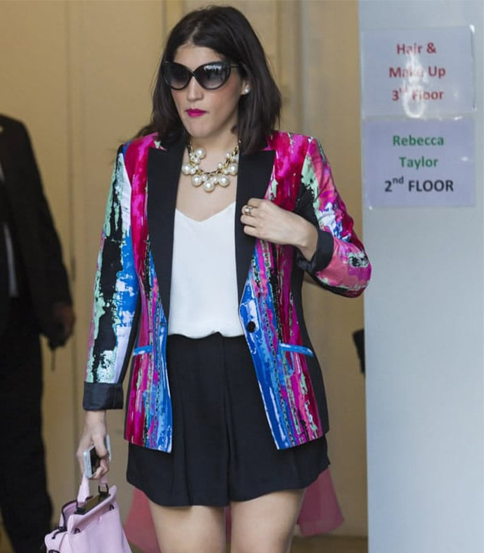 Streetstyle inspiration: colorful and printed jackets | 40plusstyle.com