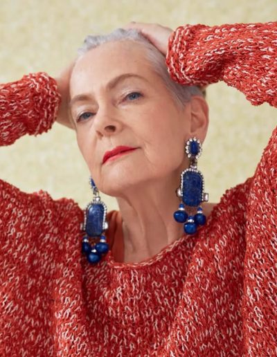 Lyn Slater - Accidental Icon | 40plusstyle.com