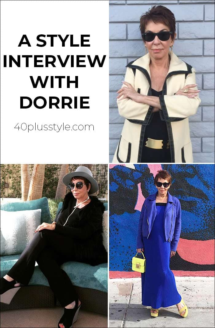 A style interview with Dorrie | 40plusstyle.com
