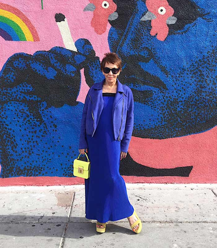 How to become a style icon at 80+ – a style interview with Dorrie