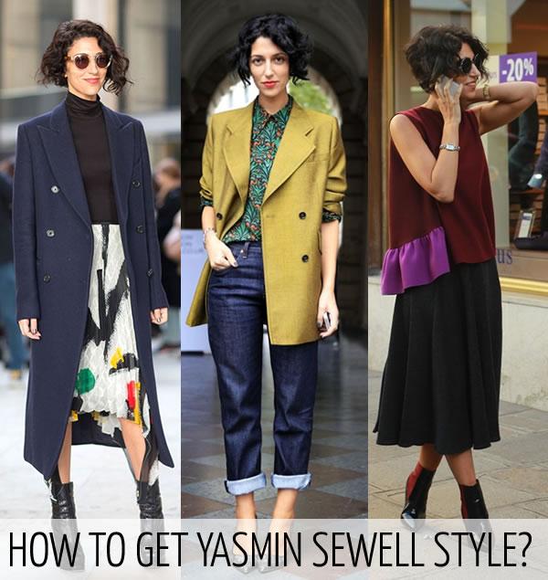 How to dress like Yasmin Sewell | 40plusstyle.com