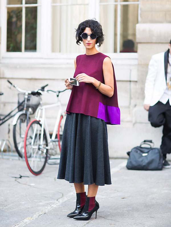 How to dress like Yasmin Sewell | 40plusstyle.com