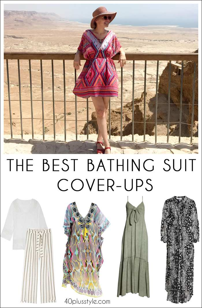 The best bathing suit cover ups for women over 40 | fashion over 40 | 40plusstyle.com