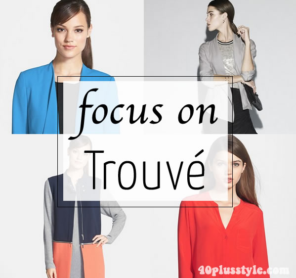 Trouve clothing for women   40plusstyle.com