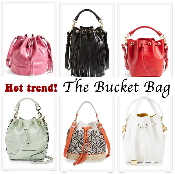 Spring 2015 trend: the bucket bag! Take your pick from ...