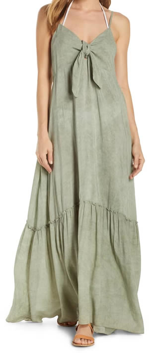 Cover up maxi dress | 40plusstyle.com