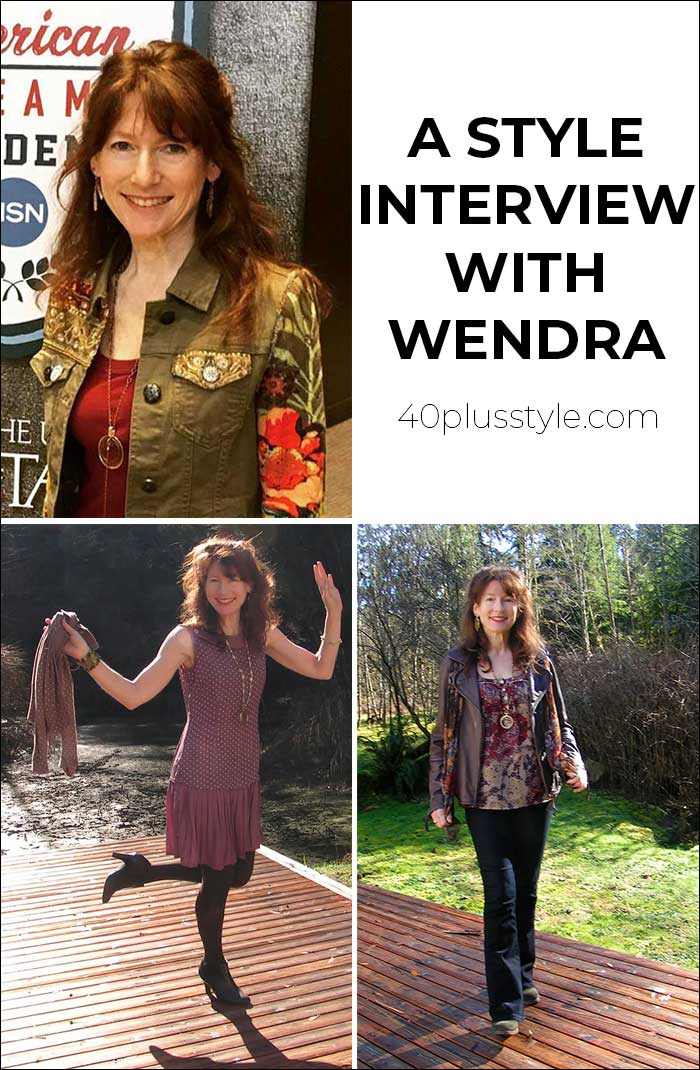 A style interview with Wendra | 40plusstyle.com