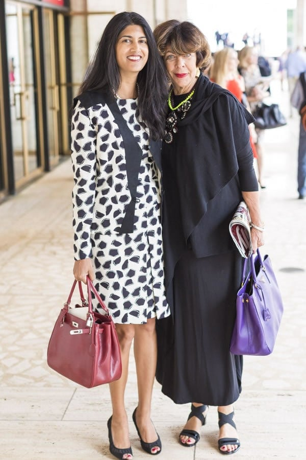 Streetstyle inspiration: dresses with sleeves | 40plusstyle.com