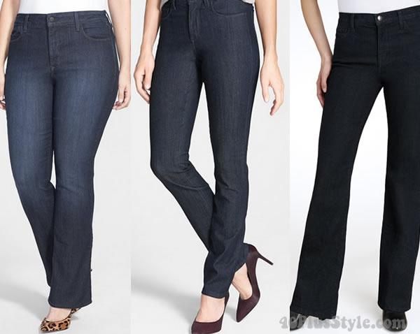 NYDJ blue jeans | 40plusstyle.com