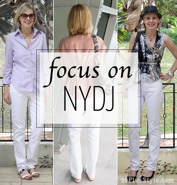 NYDJ Jeans spring collection - jeans women love! | 40plusstyle.com