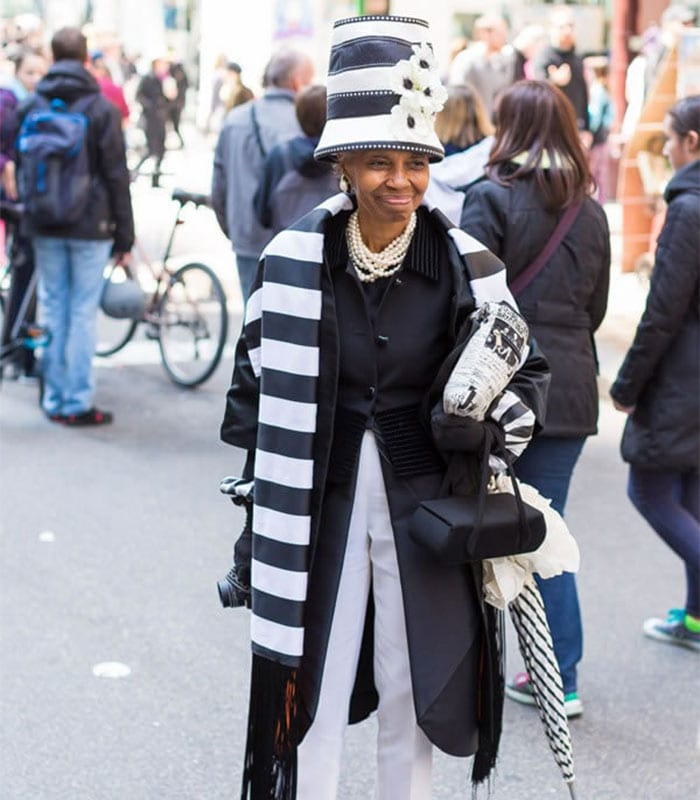 Fun And Outfits From The New York Easter Parade | 40plusstyle.com