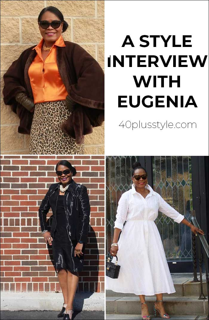 A style interview with Eugenia | 40plusstyle.com
