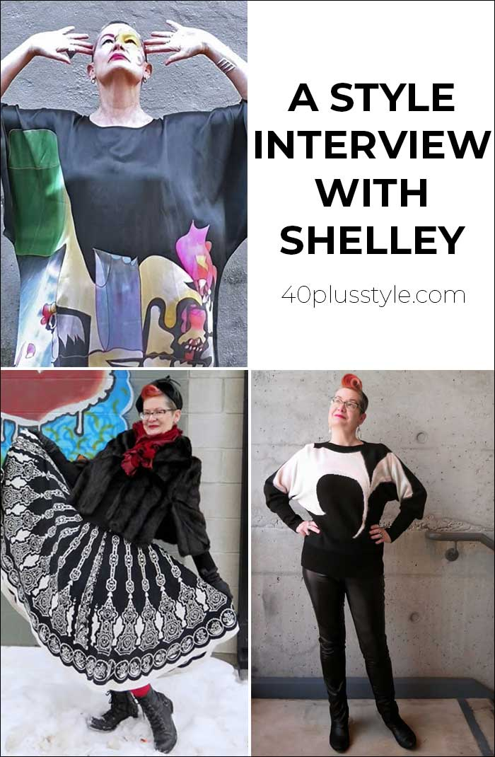 A style interview with Shelley | 40plusstyle.com