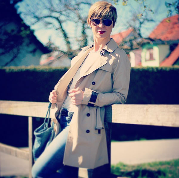 Your #40plusstyle inspiration this week: simple & chic! | 40plusstyle.com