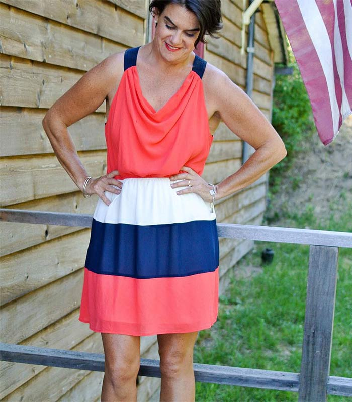 #40plusstyle inspiration: Celebrating the 4th of July!