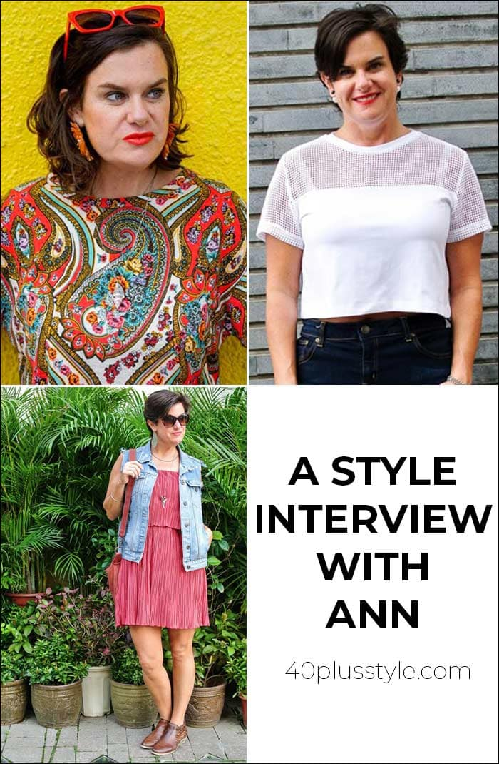 A style interview with Ann | 40plusstyle.com