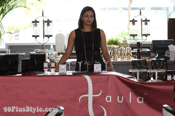 Kanika from Taula jewelry design | 40plusstyle.com