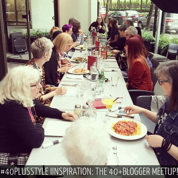 #40plusstyle inspiration from the 40+plusblogger meetup in Vancouver!