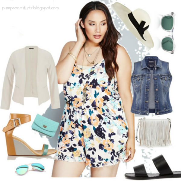 what to wear with a romper