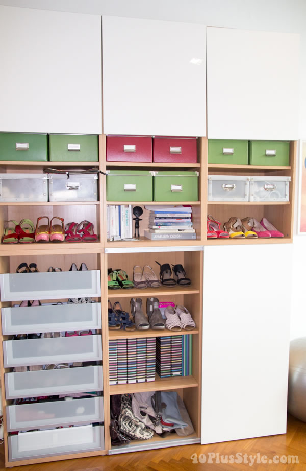 How to store your shoes and accessories? | 40plusstyle.com