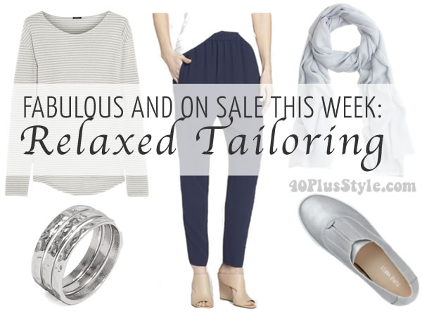 Post image for Fabulous and on sale this week: Relaxed tailoring