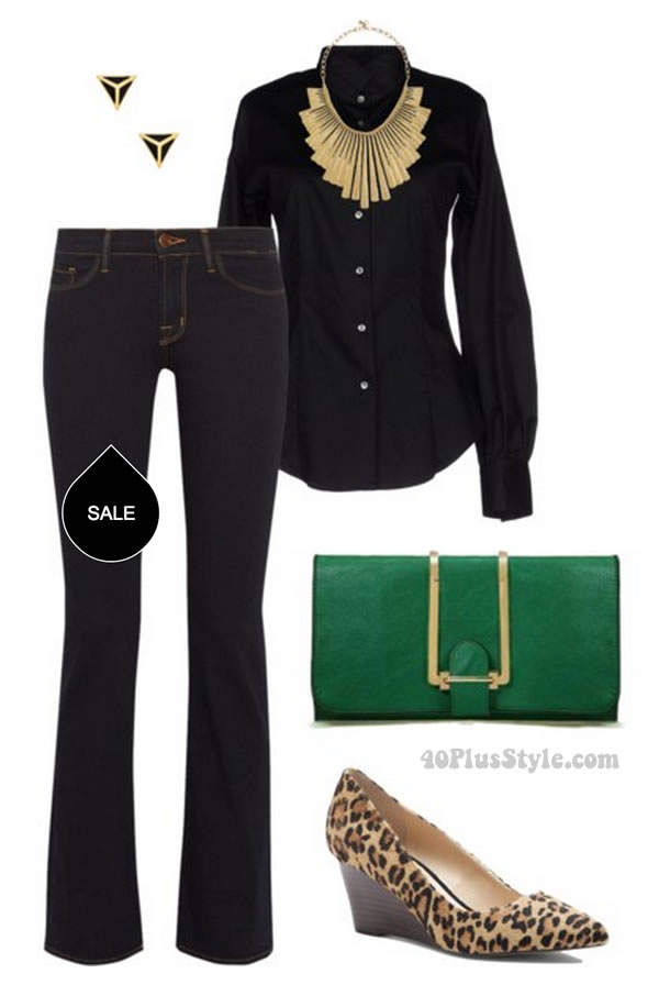 how to wear jeans in the office   40plusstyle.com