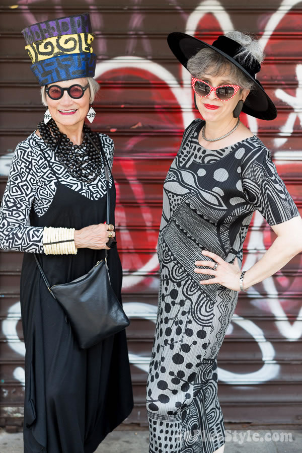 How to develop your own unique style - a style Interview with the Idiosyncratic Fashionistas   40plusstyle.com