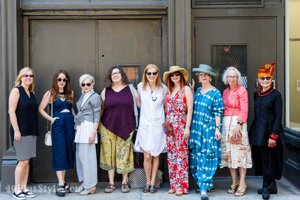 Fabulous style at the New York blogger meetup!