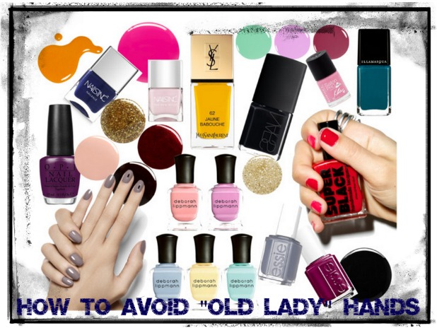 How to Avoid Old Lady hands | 40plusstyle.com