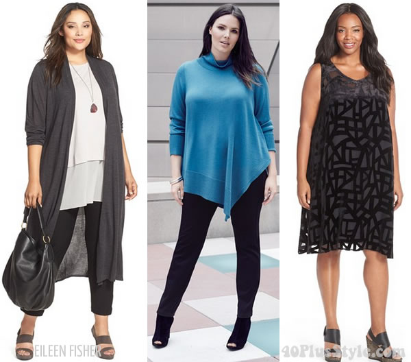 best online shops for plus size women | 40plusstyle.com