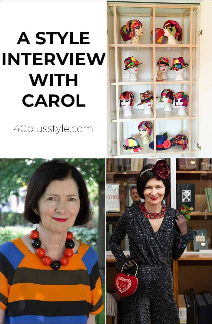 A style interview with Carol | 40plusstyle.com