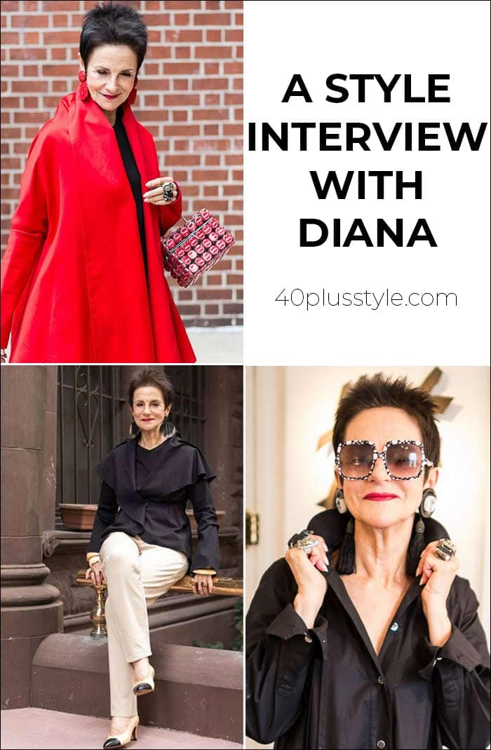 A style interview with Diana | 40plusstyle.com