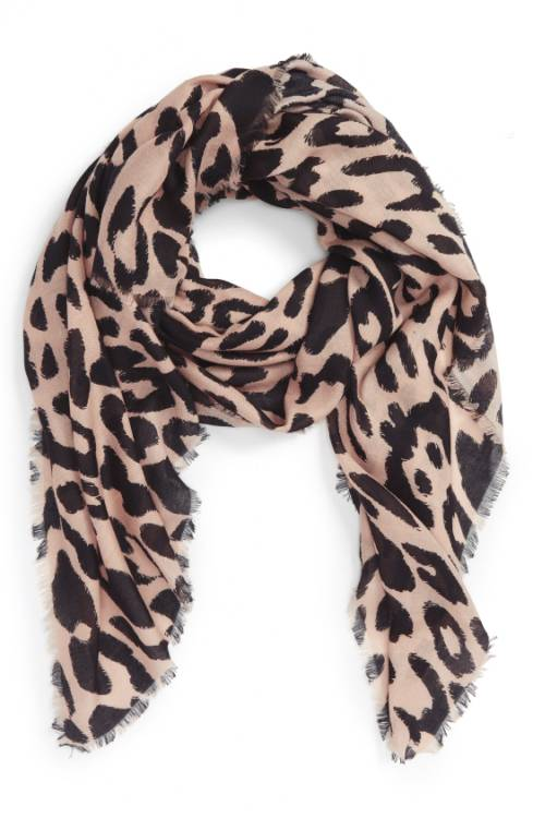 Leopard scarf   40plusstyle.com