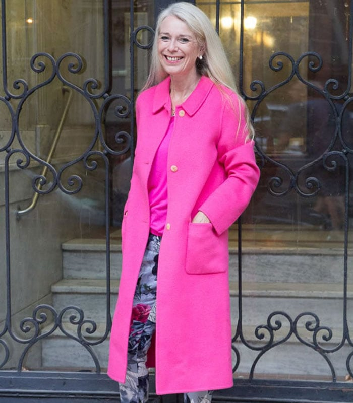 Hot In A Pink Coat   40plusstyle.com