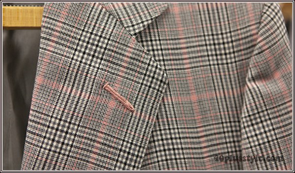 Prince of Wales Check - judging a fabric online | 40plusstyle.com