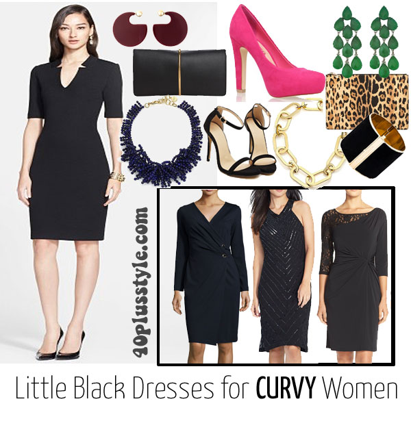 5913b3e1c14 How to wear a little black dress for your body type