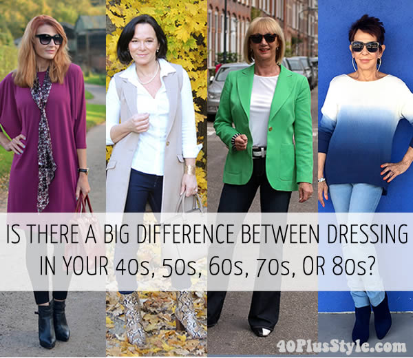 Is there a big difference between dressing for 45 or 65 or 85? | 40plusstyle.com