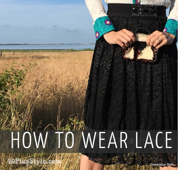 How to wear lace over 40 | 40plusstyle.com