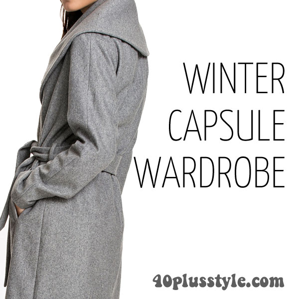 A capsule wardrobe for winter 2015 - Cynthia's picks! | 40plusstyle.com