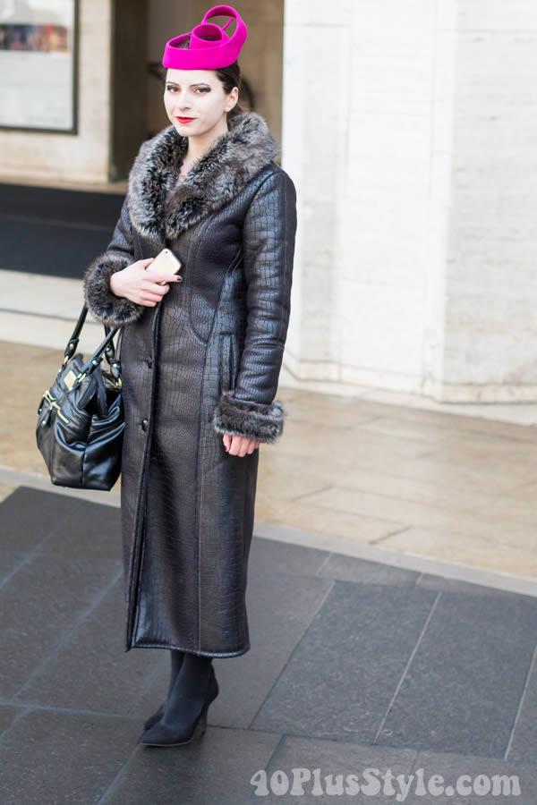 Streetstyle Inspiration: Neutral Winter Coats | 40plusstyle.com